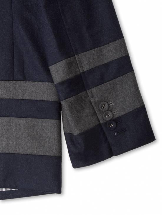 Thom Browne Paneled Chapel Jacket- Flannel Size US S / EU 44-46 / 1 - 7