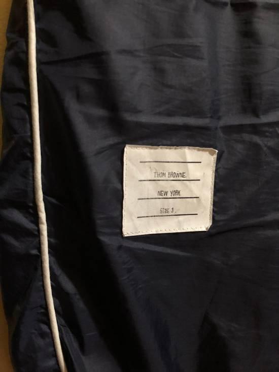Thom Browne Striped Navy Track Pants Size US 32 / EU 48 - 2