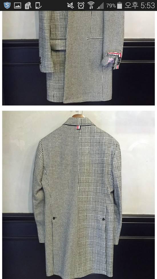 Thom Browne 15 fw funmix houndstooth coat Size US S / EU 44-46 / 1 - 1