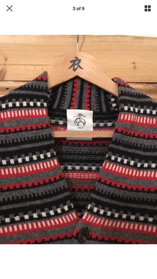 Thom Browne Black Fleece Wool Chunky Cardigan Size US L / EU 52-54 / 3 - 1