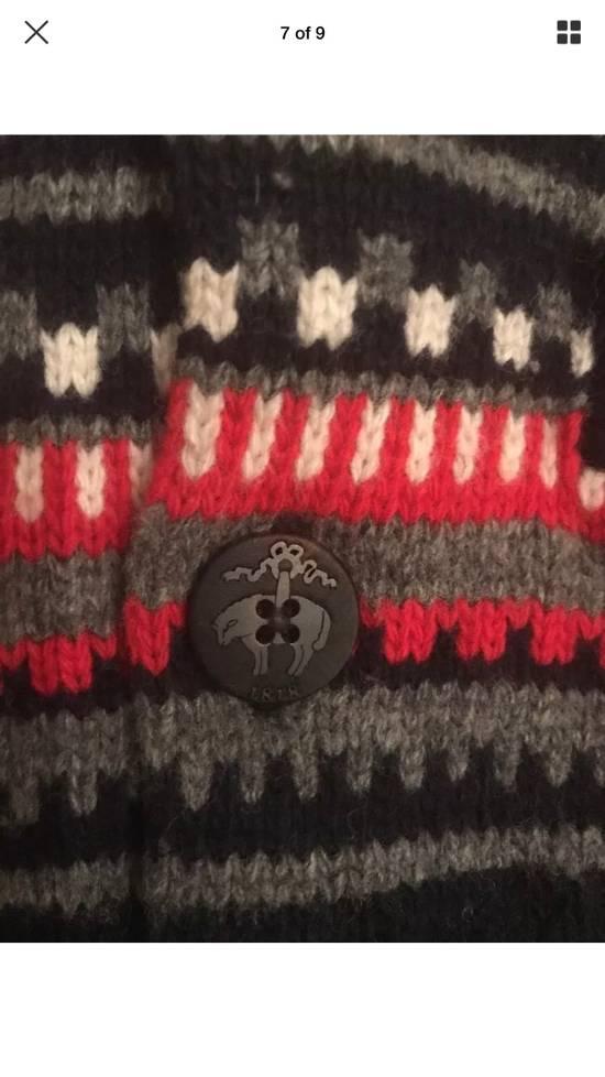 Thom Browne Black Fleece Wool Chunky Cardigan Size US L / EU 52-54 / 3 - 3