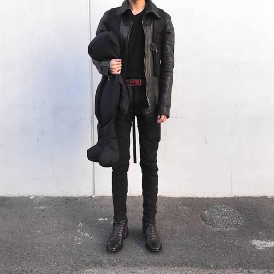 Julius Julius Jut Neck Leather Jacket Size US S / EU 44-46 / 1 - 4