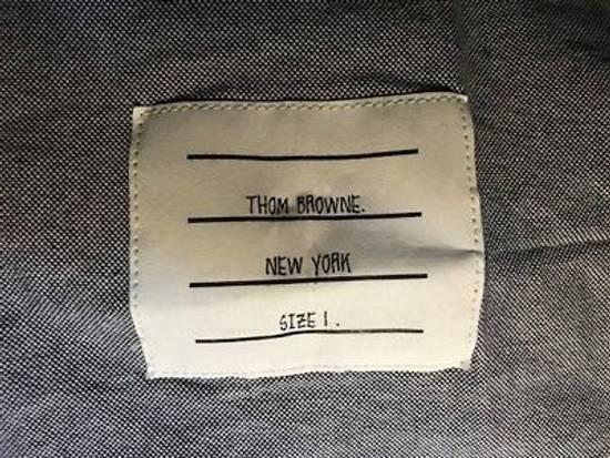 Thom Browne PRINTED DIAGONAL STRIPE IN NAVY OXFORD NEW Size US S / EU 44-46 / 1 - 4