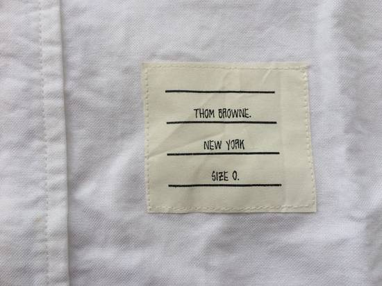 Thom Browne Oxford White Shirts With Grosgrin Size US M / EU 48-50 / 2 - 4