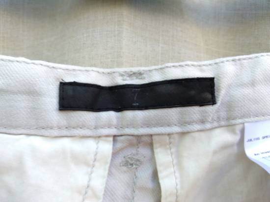 Julius Gas Mask Cargo Shorts White Bamboo Twill ss12 Size US 30 / EU 46 - 6