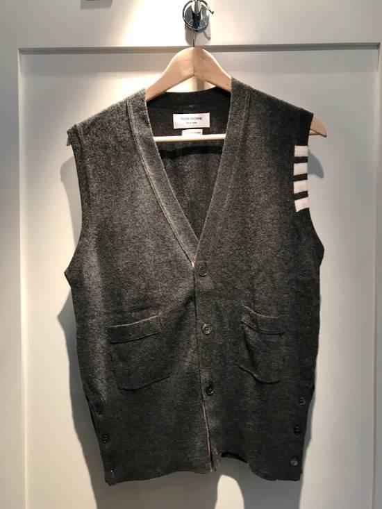 Thom Browne Thom Browne Men's Cashmere Vest Size US M / EU 48-50 / 2