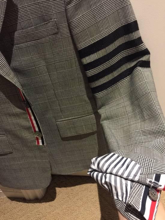 Thom Browne Rare Black Arm Stripe Blazer Size 38R - 2