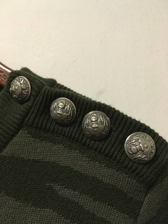 Balmain FW14 Embroidered Open Shoulder Knit Size US S / EU 44-46 / 1 - 3