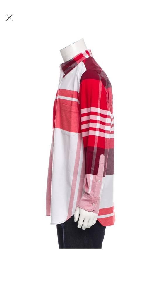 Thom Browne Thom Browne Red Check Button Up XXL Size US XXL / EU 58 / 5 - 1