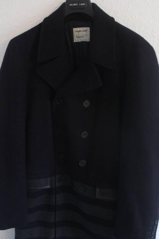 Helmut  Lang AW97 OG Archival Resin Stripe Military Coat Size US M / EU 48-50 / 2 - 1
