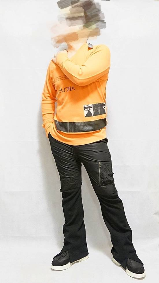 Julius BNWT 2018SS Limited Oversize Mesh Graphic Print Sweater Orange Size US S / EU 44-46 / 1