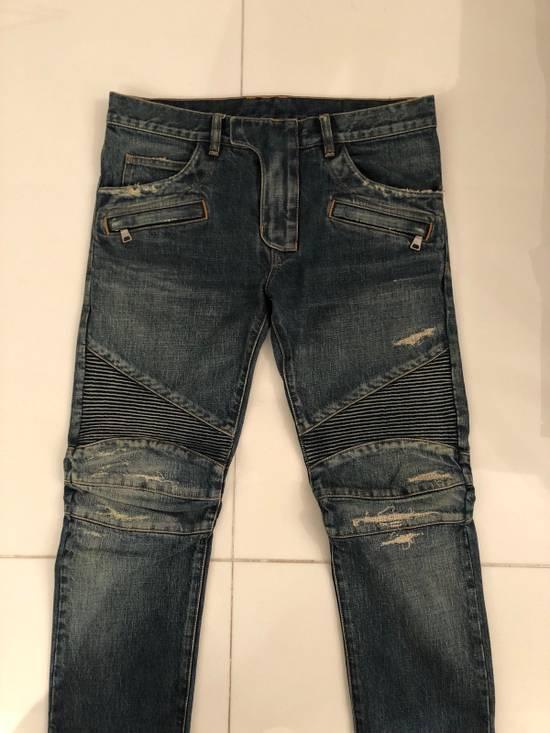 Balmain Biker Jeans Size 31 Size US 31