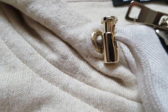 Balmain Zipped Up Cotton/Linen Hoodie Size US XL / EU 56 / 4 - 6