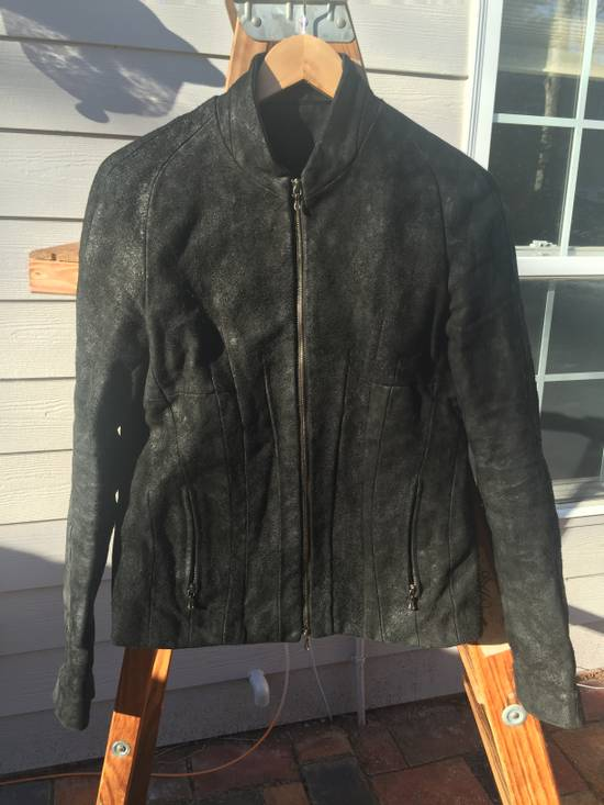 Julius AW10 Heavy Oiled Reverse Steer Jacket Size US M / EU 48-50 / 2 - 1