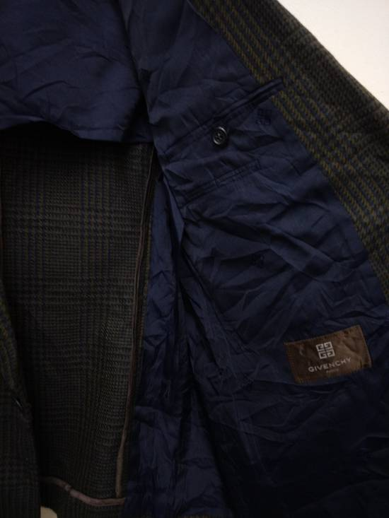 Givenchy Tailored Glen Plaid Blazers Size 38R - 4