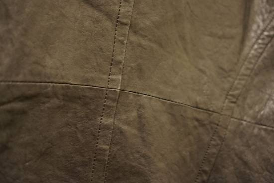 Julius Lamb Leather Jacket - s/s 11 Chaos Ontological Anarchism Size US S / EU 44-46 / 1 - 6