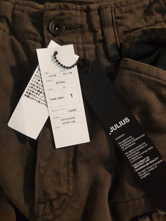 Julius Julius Distressed Gasmask Cargo Pants Size US 30 / EU 46 - 15