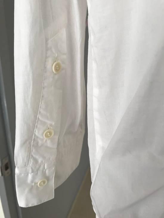 Julius SS16 long shirt with no collar Size US L / EU 52-54 / 3 - 5