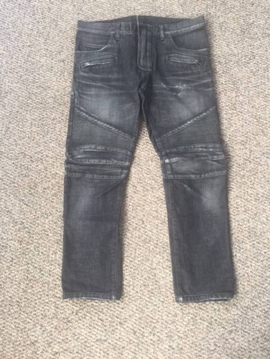 Balmain Black Distressed Size US 33