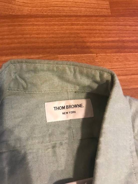Thom Browne Classic Light Green Long Sleeves Size US M / EU 48-50 / 2 - 2