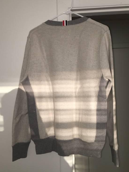 Thom Browne Grey Contrast Sweatshirt Size US L / EU 52-54 / 3 - 3