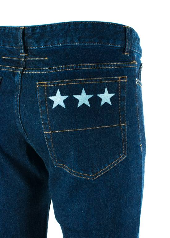 Givenchy Givenchy Men's Medium Blue W/ Star Accent Denim Jeans Size US 36 / EU 52 - 2