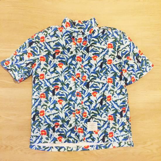 Thom Browne Hawaiin Print Tropical Swim Shirt Size US XL / EU 56 / 4