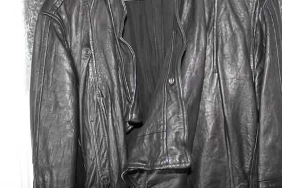 Julius 11aw halo asymmetrical leather jacket Size US M / EU 48-50 / 2 - 8