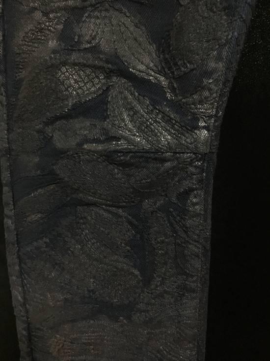Balmain Balmain Midnight Blue Waxed Embroidered Jeans Size US 27 - 18