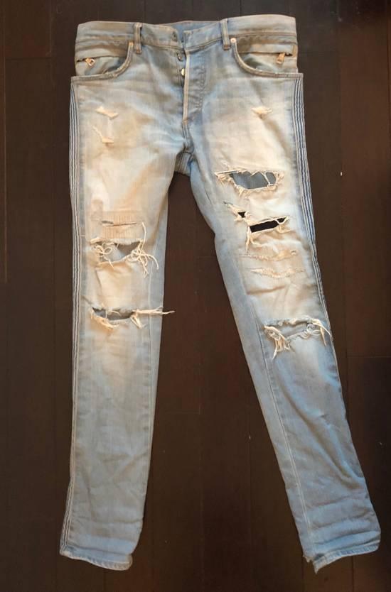 Balmain Balmain jeans distressed light indigo Size US 31