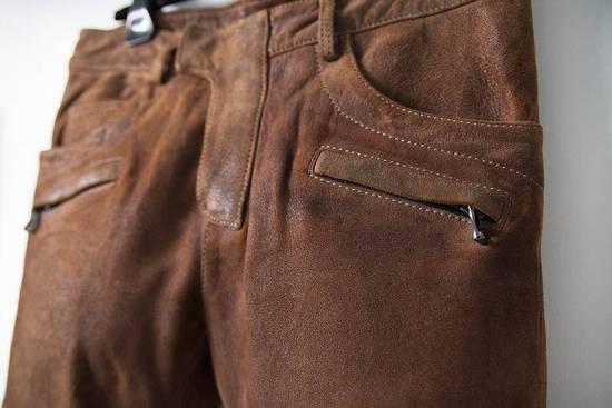 Balmain 2014 leather biker pants Size US 30 / EU 46 - 2
