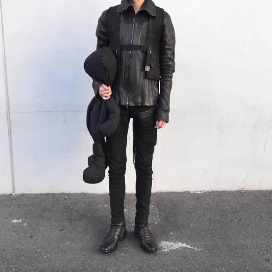 Julius Julius Jut Neck Leather Jacket Size US S / EU 44-46 / 1 - 5