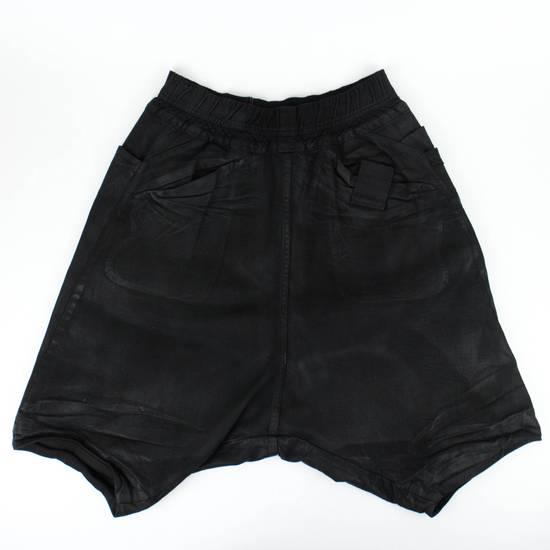 Julius 7 Black Sarqouel Stretch Denim Shorts Size M Size US 34 / EU 50 - 1