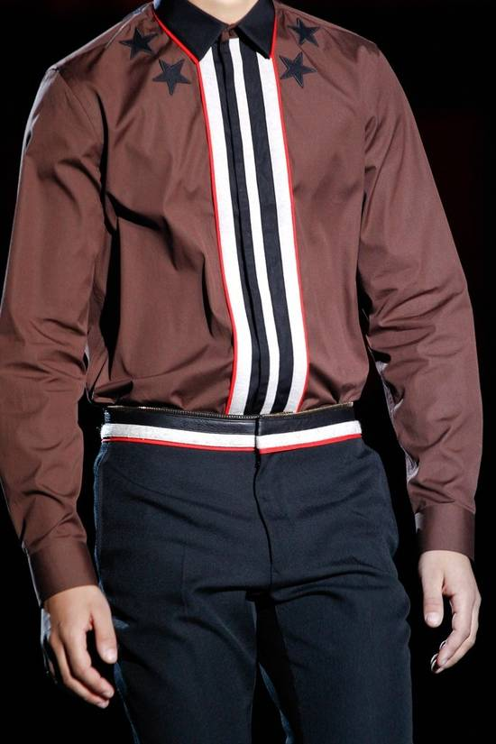 Givenchy FW12 STAR EMBROIDERED SHIRT Size US XS / EU 42 / 0 - 2