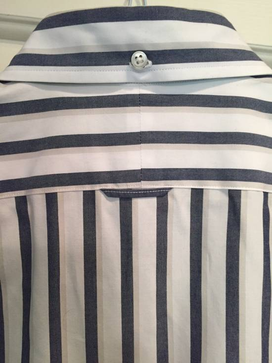 Thom Browne Classic Shirt In Thick Stripe Poplin Size US M / EU 48-50 / 2 - 5