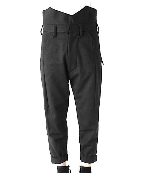 Julius Julius Cropped Military Wool Pants 597 PAM1 Sz.1 Size US 29