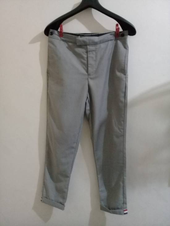 Thom Browne THOM BROWNE CLASSIC GRAY TROUSER Size 46R