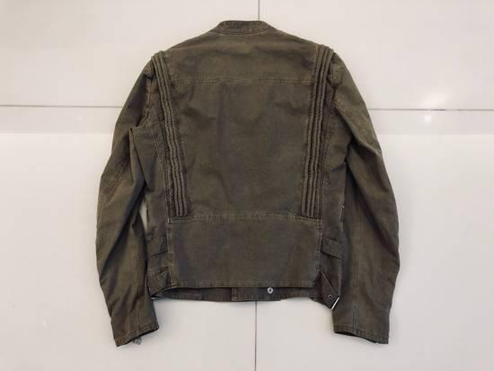 Balmain Canvas Biker Jacket Size US M / EU 48-50 / 2 - 1