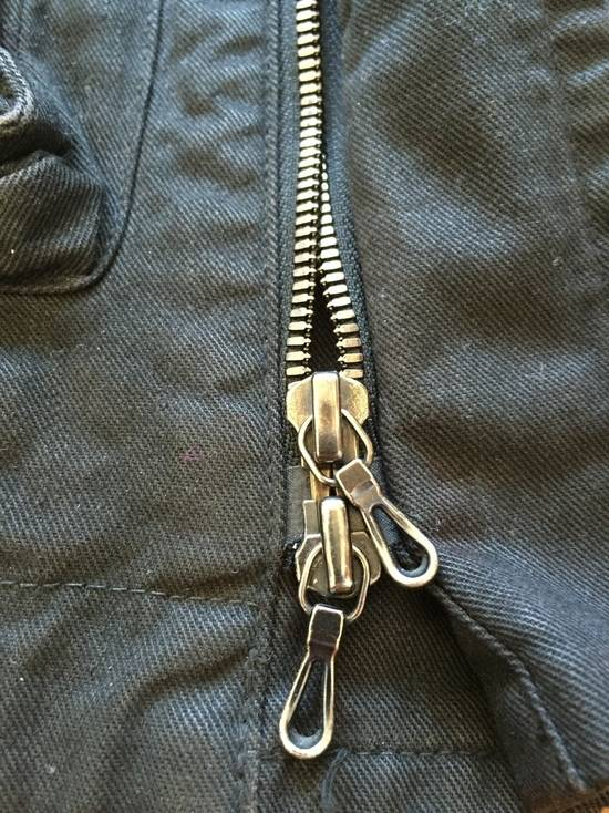 Julius AW08 Gas mask cargo pocket denim jacket Size US S / EU 44-46 / 1 - 7
