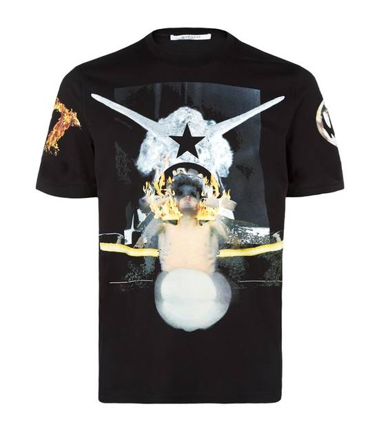 Givenchy Voodoo Doll Flames T-shirt Size US M / EU 48-50 / 2 - 1
