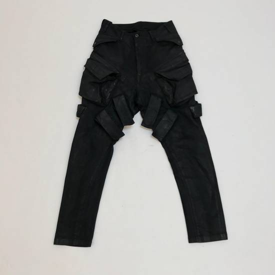 Julius FW15 Sphere/Gas Mask Waxed Denim Cargo Pants Size US 30 / EU 46 - 4