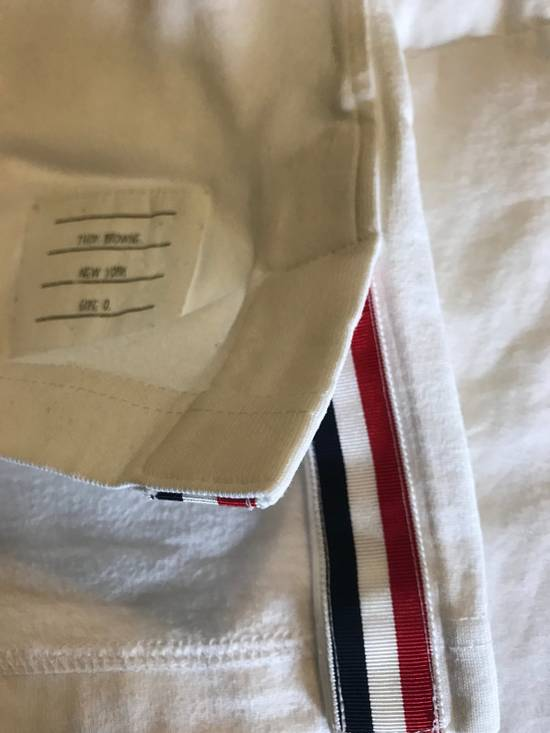 Thom Browne Thom Browne T-shirt White Cotton SIZE 0 Size US S / EU 44-46 / 1 - 1