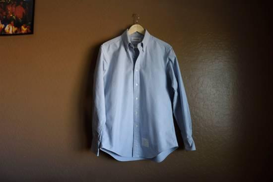 Thom Browne Classic Blue Oxford Shirt Size US L / EU 52-54 / 3