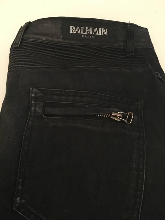 Balmain Balmain Homme OG Black Bikers Size US 32 / EU 48 - 4