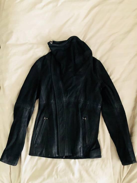 Julius Cowl Neck Leather Jacket Size US M / EU 48-50 / 2 - 1