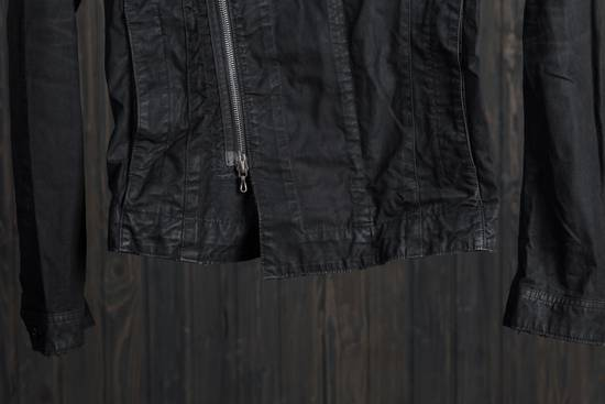 Julius high neck asymmetric zip waxed denim jacket Size US S / EU 44-46 / 1 - 2