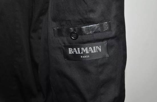 Balmain Quilted Biker Leather Jacket Size US S / EU 44-46 / 1 - 4