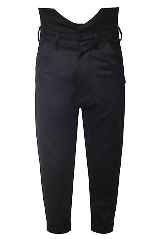 Julius Julius Cropped Military Wool Pants 597 PAM1 Sz.1 Size US 29 - 2