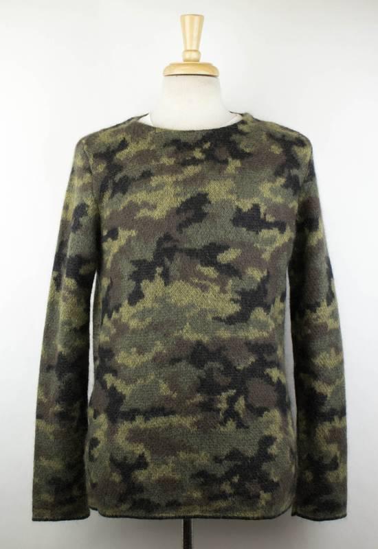 Balmain Camouflage Mohair Blend Jumper Sweater Size M Size US M / EU 48-50 / 2