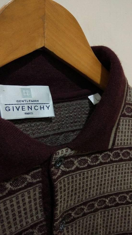 Givenchy Givenchy Pattern Polo L/S Size US M / EU 48-50 / 2 - 2